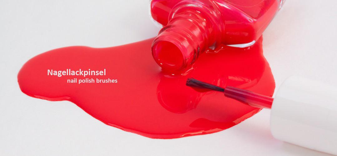 Nagellackpinsel - nail polish brushes